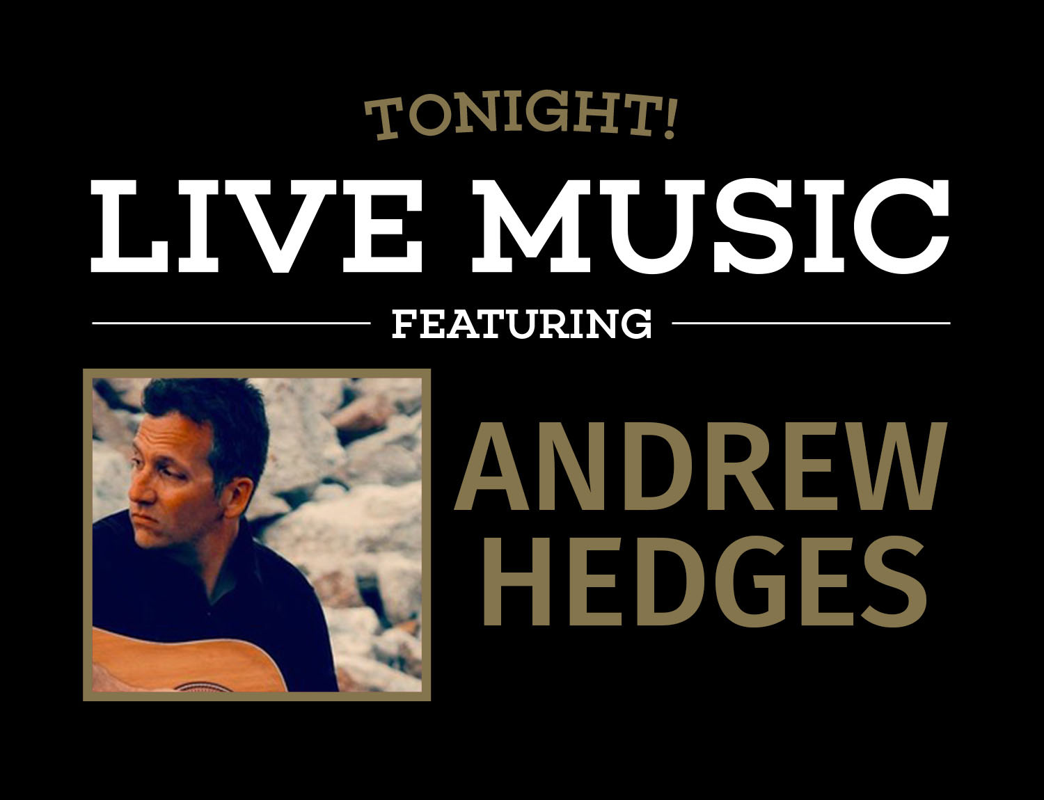Live Music on Friday night at Bottled in Bond