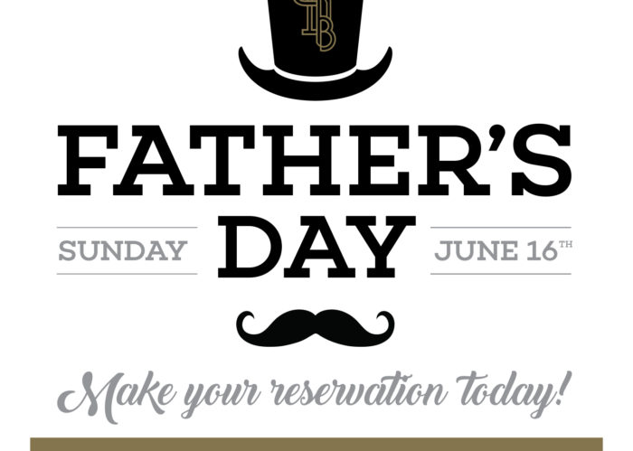 Celebrate Father's Day at Bottled in Bond Cocktail Parlour & Kitchen